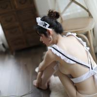 Váy ngủ cosplay hầu gái sexy quyến rũ - Màu Trắng Free size - Gợi cảm - tk1575-cosplay-hau-gai-sexy-4_0.jpg