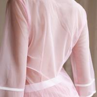 Váy ngủ ren kèm quần lót lọt khe nữ hà nội + Áo ngực trong suốt - Màu Trắng, Hồng cỡ M - Sắp hết hàng - tk1692-do-ngu-nu-sinh-16.jpg