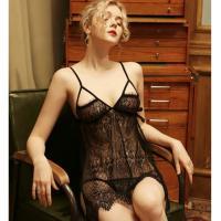 Váy ngủ xẻ hông sexy - Màu Đen Free size - Quyến rũ - tk1797-vay-ngu-xe-hong-sexy-4_1.jpg