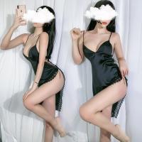 Váy ngủ 2 dây gồm Áo ngực đẹp - Màu Trắng, Đen cỡ M - Mặc vào cùng nhau thăng hoa cảm xúc - vay-ngu-goi-cam-tk2365-9.jpg