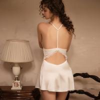 Váy ngủ lụa - Màu Trắng Free size - Thật gợi tình - vay-ngu-goi-tinh-tk2428-5.jpg