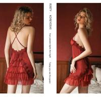 Váy ngủ ren - Màu Trắng, Hồng, Tím, Đỏ đô cỡ M, L - Làm chàng mê mẩn - vay-ngu-nu-lua-goi-cam-tk2468-7.jpg