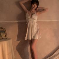 Váy ngủ quyến rũ đan hình tháp Eiffel TK2652 (đỏ, trắng) - vay-ngu-quyen-ru-xe-hong-tk2652-2.jpg