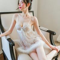 Váy ngủ siêu gợi cảm cùng quần lót nữ không đáy - Màu Trắng cỡ M - Làm chàng không thể chối từ - vay-ngu-sexy-long-vu-de-thuong-tk2362-9.jpg