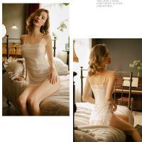 Váy ngủ ôm viền ren thun trơn gợi cảm - Màu Trắng, Đen Free size - Khêu gợi - tk1795-vay-ngu-goi-cam-thun-tron-8.jpg