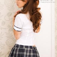 Đồ ngủ cosplay nữ sinh dễ thương - Màu Trắng Free size - Thật gợi cảm - tk1832-do-ngu-nu-sinh-2.jpg