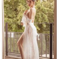 Áo choàng ngủ ren kèm bộ lót sexy - Màu Trắng Free size - Dịu dàng - tk1848-ao-choang-ngu-ren-kem-bo-lot-sexy-8.jpg