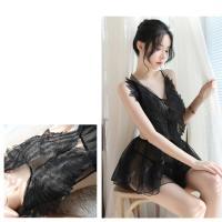 Đầm ngủ xoè đôi cánh thiên thần sexy - Màu Trắng, Đen Free size - Làm chàng không thể chối từ - tk1895-dam-ngu-xoe-canh-thien-than-6.jpg