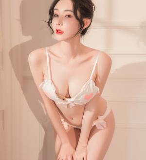 Áo ngực đẹp cùng quần lót nữ ren - Màu Hồng nhạt - Chỉ có tại Đồ lót Đẹp - do-lot-ngu-de-thuong-tk2426-2.jpg