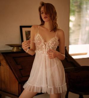 Váy ngủ ren điểm hoa nhỏ xinh - vay-ngu-ren-hoa-nguc-xinh-tk2611-9.jpg