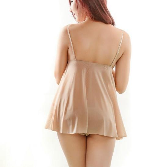 Váy ngủ siêu gợi cảm cùng quần lót nữ cao cấp - Ảnh 2