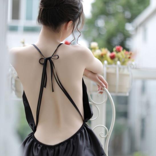 Váy ngủ phi bóng - Ảnh 4