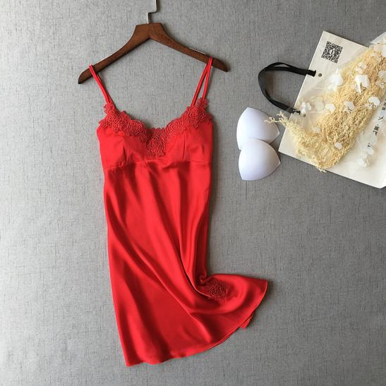 Váy ngủ siêu gợi cảm - Ảnh 1