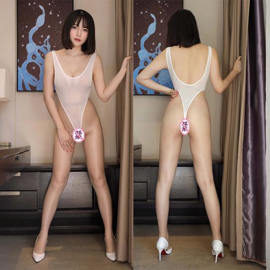 Váy ngủ bodysuit lọt khe sexy - Ảnh 7