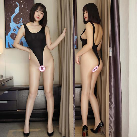 Váy ngủ bodysuit lọt khe sexy - Ảnh 9