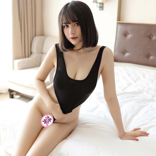 Váy ngủ bodysuit lọt khe sexy - Ảnh 8