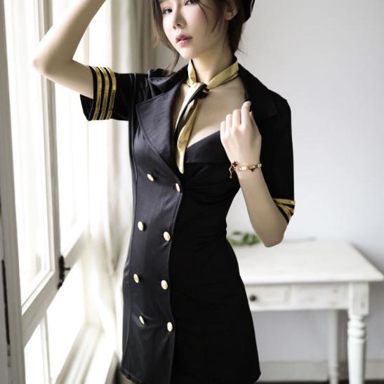 Váy ngủ cosplay cảnh sát xinh đẹp - Ảnh 4