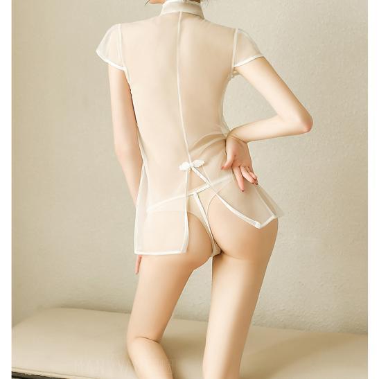 Váy ngủ siêu mỏng gợi cảm cùng quần lót nữ đẹp - Ảnh 6
