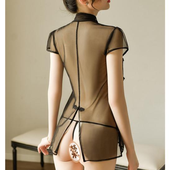 Váy ngủ siêu mỏng gợi cảm cùng quần lót nữ đẹp - Ảnh 2