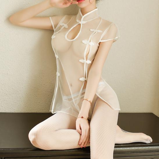 Váy ngủ siêu mỏng gợi cảm cùng quần lót nữ đẹp - Ảnh 4