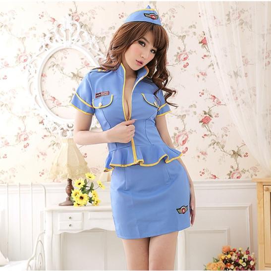 Váy ngủ quyến rũ chồng Cosplay cảnh sát gợi cảm - Ảnh 1