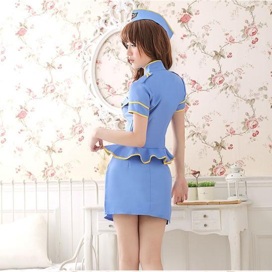 Váy ngủ quyến rũ chồng Cosplay cảnh sát gợi cảm - Ảnh 2