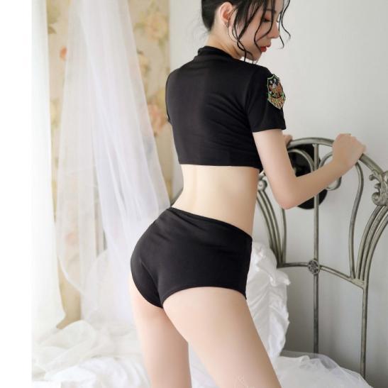 Váy ngủ Cosplay cảnh sát 2 mảnh sexy - Ảnh 5