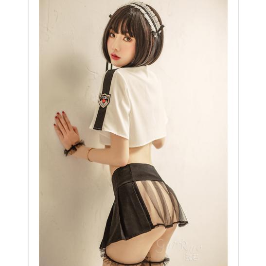 Váy ngủ Cosplay nữ sinh Nhật Bản sexy - Ảnh 2