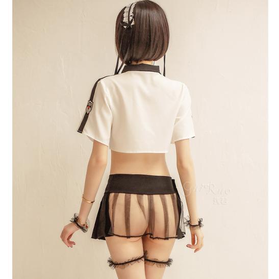 Váy ngủ Cosplay nữ sinh Nhật Bản sexy - Ảnh 4