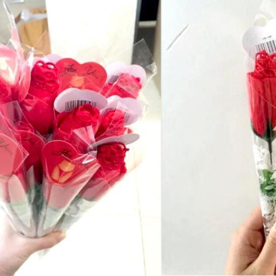 Quần lót nữ lọt khe nóng bỏng với tạo hình Quần hoa hồng - Ảnh 3