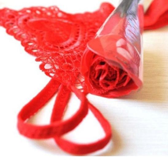 Quần lót nữ lọt khe nóng bỏng với tạo hình Quần hoa hồng - Ảnh 4