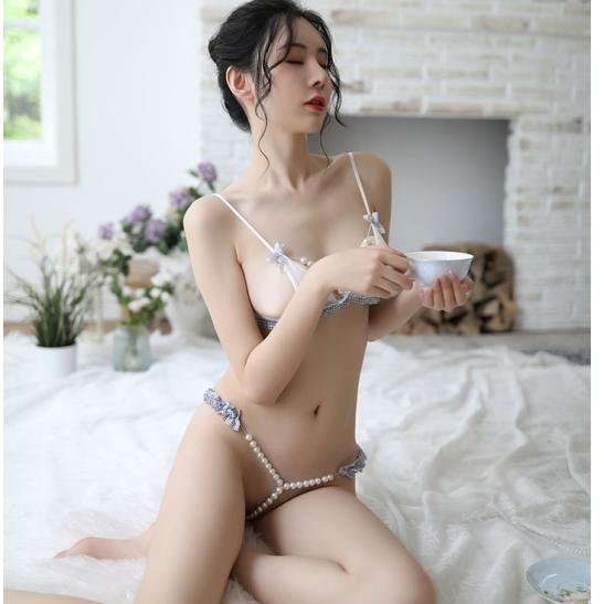 Quần lót nữ gợi dục gồm Áo lót chuỗi hạt sexy - Ảnh 4