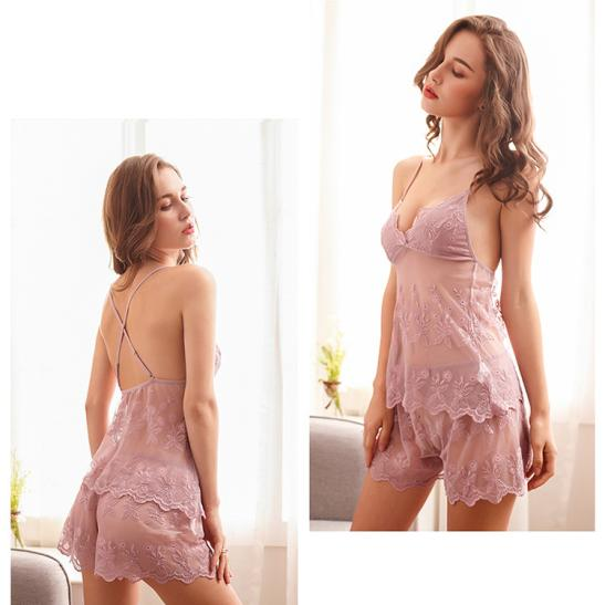 Áo ngực sexy cùng quần lót nữ thun lạnh - Ảnh 6