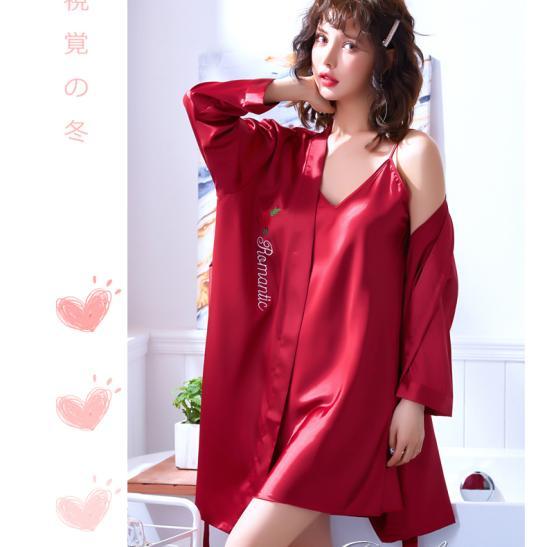 Áo choàng váy ngủ phi gợi cảm - Ảnh 5