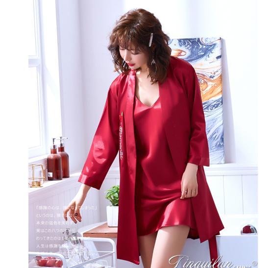 Áo choàng váy ngủ phi gợi cảm - Ảnh 1