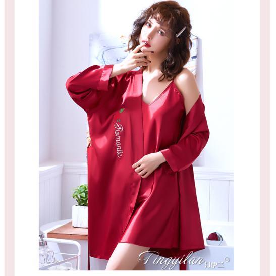 Áo choàng váy ngủ phi gợi cảm - Ảnh 2