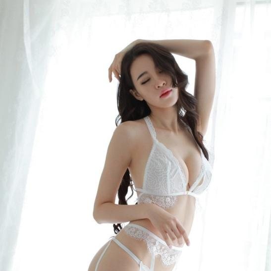 Áo nâng ngực không dây kèm quần lót nữ đẹp nhất + kẹp vớ tinh nghịch + quần tất / vớ gợi cảm - Ảnh 8