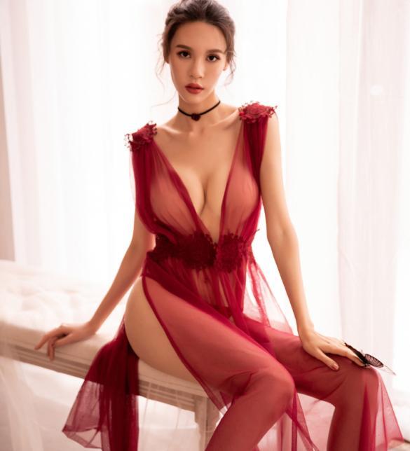 Đầm ngủ sexy sang trọng quyến rũ