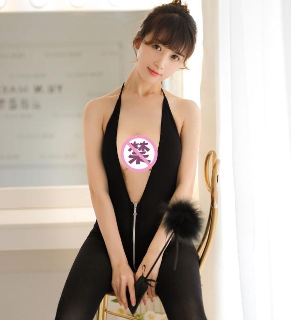 Tất ngủ dây kéo xẻ ngực sexy - Màu Đen Free size - Sexy - tk1843-do-ngu-tat-xe-nguc-sexy-5.jpg