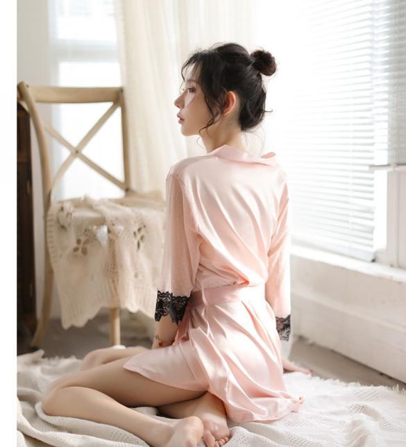 Áo choàng phi lụa phối ren gợi cảm - Màu Hồng da Free size - Cuốn hút - tk1847-ao-choang-ngu-goi-cam-2.jpg
